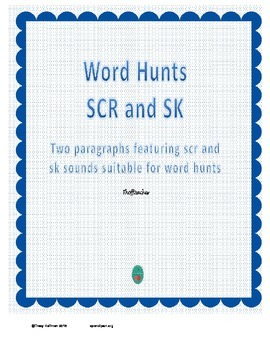 Word Hunt SCR vs SK