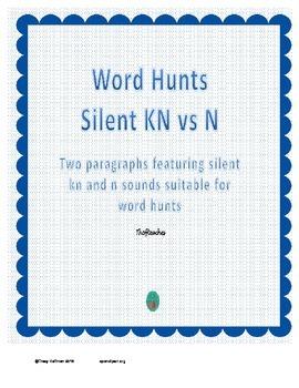 Word Hunt Silent KN vs N