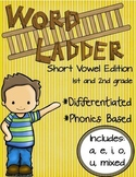 Word Ladders: Short Vowel Edition (1st and 2nd grade)