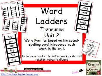 Word Ladders Unit 2