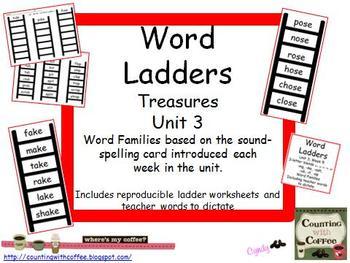 Word Ladders Unit 3