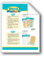 Word Match (High-Frequency Words: Center Games, Level B)
