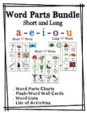 Word Parts Bundle: Short and Long Vowels