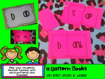 "Word Pattern Books Bundle#1 ""A""- patterns"