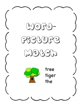 Word-Picture Match