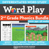 Word Play 2nd Grade Phonics and Chunk Spelling Curriculum
