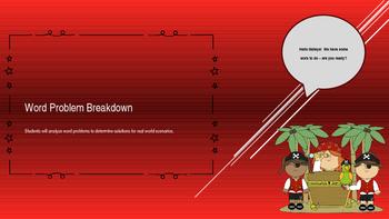 Word Problem Breakdown - Bundle