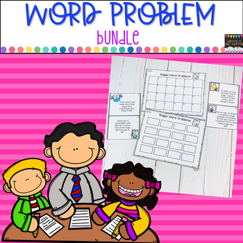 Word Problem Bundle- Construct A Story/ Buggy Problems