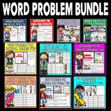 Word Problem Bundle: Math Assessments, Math Practice, Math