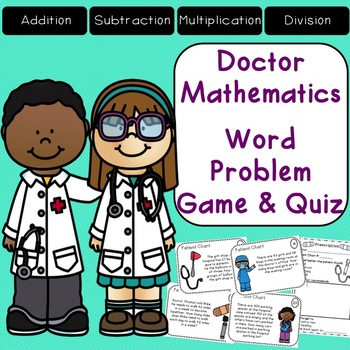 Word Problem Game {Addition Subtraction Multiplication Division}