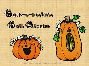 Word Problem (Halloween, Jack-o-lanterns)