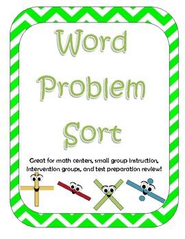 Word Problem Operation Sort