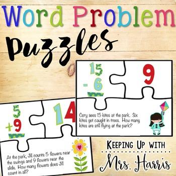 Word Problem Puzzles