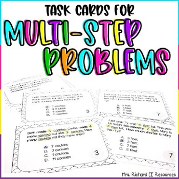 Differentiated Multi-step Additon and Subtraction Word Pro