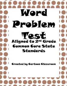 Word Problem Test