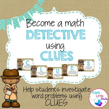 Word Problems-Become a Math Detective