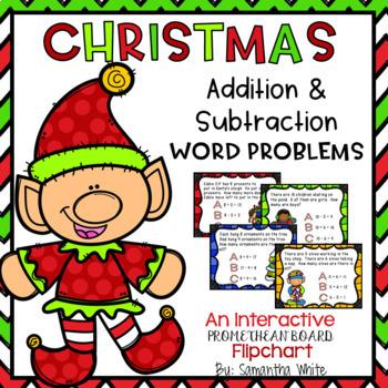 Word Problems {Christmas Edition}