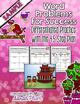 Word Problems For Success - February Sampler