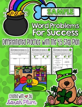 Word Problems For Success - March/St. Patrick's Day Sampler