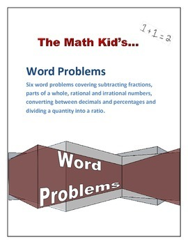 Word Problems: Fractions, Parts of a Whole, Conversions an