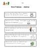 Word Problems Kindergarten & First Grade  - 55 Word Problems