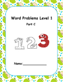 Word Problems Intervention Level 1 C