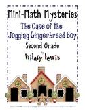 Word Problems-Mini-Math Mystery-Jogging Gingerbread-Grade