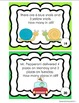 Back to School  Word Problems Task Cards Morning Work Earl