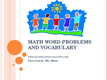 Word Problems and Vocabulary Powerpoint