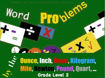 Word Problems by the Ounce, ... Level 2
