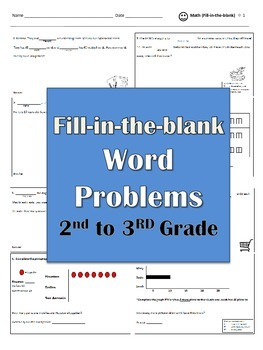 Word Problems (fill in the blank)