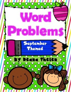 Word Problems for September