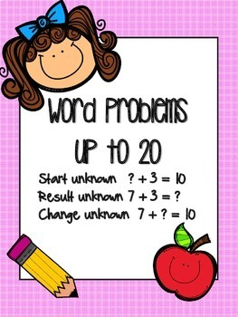 Word Problems up to 20