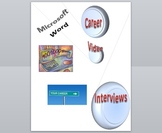 Word Processing Career Video Project