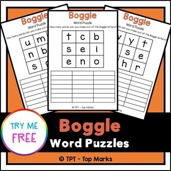 Word Puzzle & Letter Sorting