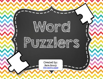 Word Puzzlers