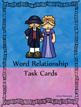 Word Relationship Task Cards
