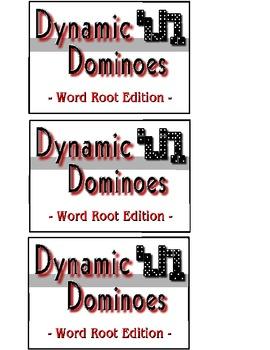 Word Root Dominoes