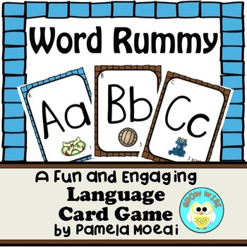 Word Rummy:  A Language Arts Card Game