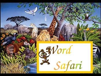 Word Safari Sight Words 2nd Gr Set D