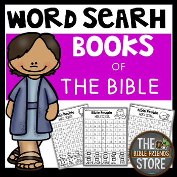 Word Search-Books of  the Bible