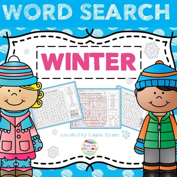 Word Search - Winter Theme