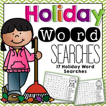 Holiday Word Searches