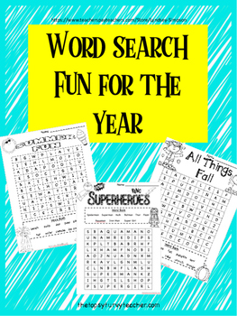 Word Searches Year Round