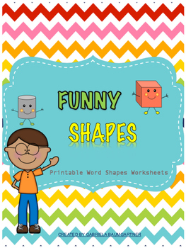 Word Shapes &  Shape Recognition  Morning Work