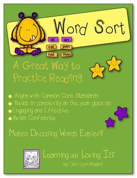 """Word Sort"" -  Sorting Words According to Phonetic Elements"