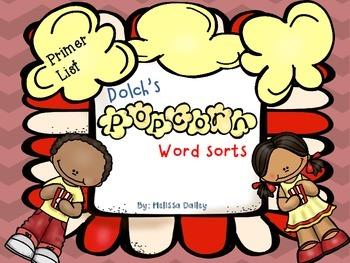 Word Sort - Dolch Primer Word List