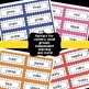 Word Sort Pocket Chart Cards First Grade Edition