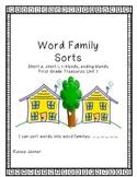 Word Sorts: First Grade Treasures Unit 2