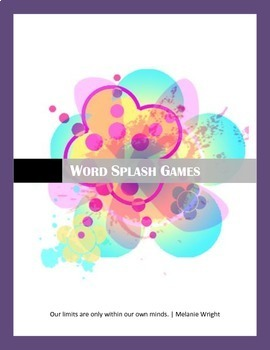Realidades PE Vocabulary Word Splash Puzzle Games
